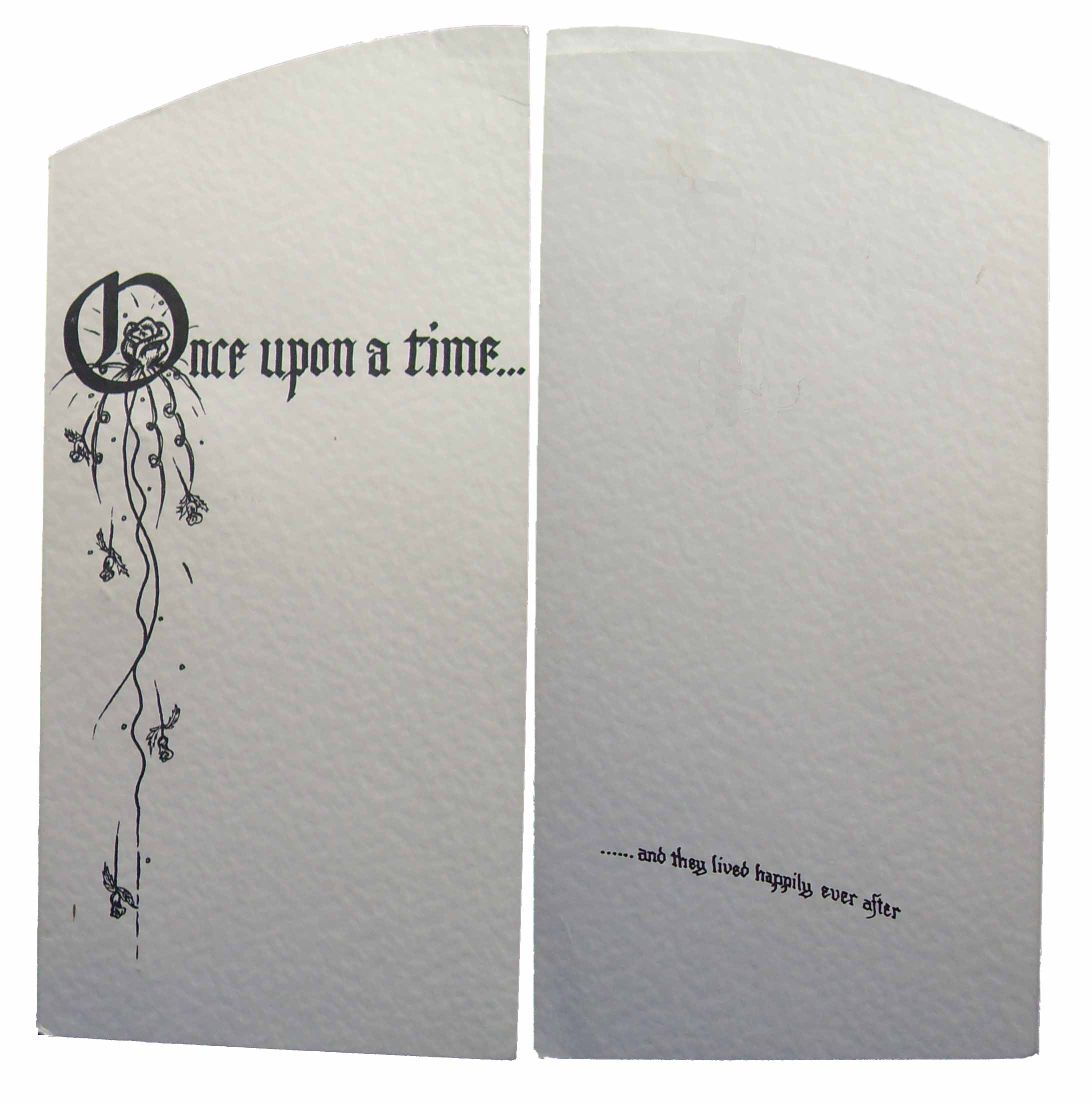 Once Upon A Time Wedding Invitation is adorable invitation sample